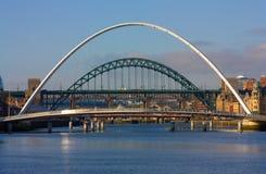 Puentes de Tyneside Foto de archivo libre de regalías