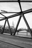 Puentes del puerto Imagen de archivo
