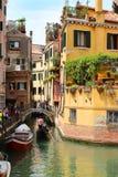 Puentes en Venecia Italia Foto de archivo libre de regalías