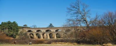 Puentes ferroviarios Fotos de archivo libres de regalías