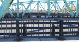 Puentes gemelos en Westfield, Massachusetts 4K almacen de metraje de vídeo