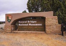 Puentes naturales Foto de archivo