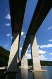 Puentes paralelos fotografía de archivo libre de regalías