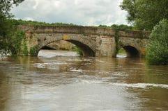 Puentes viejos y nuevos de Pershore Imagenes de archivo