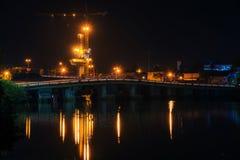 Puentes y construcción Foto de archivo