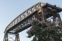 puentetransbordador Royaltyfria Foton
