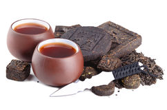 Puerh茶 免版税图库摄影