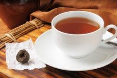 Puerh Tea Royaltyfria Foton