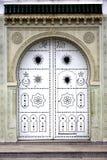 Puerta árabe Imagen de archivo libre de regalías