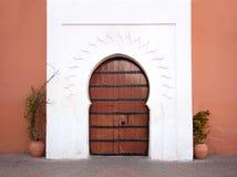Puerta árabe oriental Foto de archivo