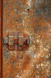 Puerta 02 del hierro Fotos de archivo libres de regalías