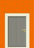 Puerta. Ilustración del Vector