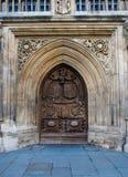 Puerta - abadía del baño Fotografía de archivo libre de regalías