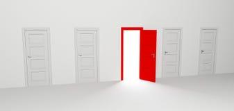 Puerta abierta Fotografía de archivo