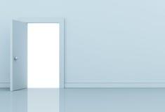 Puerta abierta Fotos de archivo