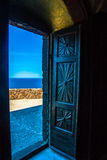 Puerta abierta al mar Fotografía de archivo