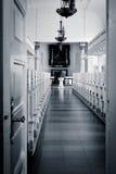 Puerta abierta - recepción a la iglesia (Skagen, Dinamarca) Imagen de archivo libre de regalías