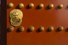 Puerta adornada de los edificios eligious Pekín China del templo del Templo del Cielo Tiantan Daoist Imágenes de archivo libres de regalías