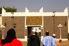 Puerta africana del palacio Fotos de archivo libres de regalías