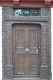 Puerta agradable Foto de archivo libre de regalías