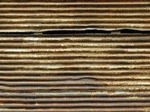 puerta aherrumbrada del metal Imagenes de archivo