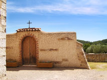 Puerta al cementerio Fotografía de archivo libre de regalías