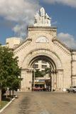Puerta al cementerio La Habana de los dos puntos Imagen de archivo libre de regalías