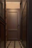 Puerta al cuarto Imagen de archivo libre de regalías