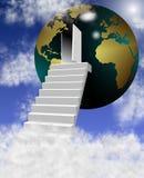 Puerta al mundo Imágenes de archivo libres de regalías
