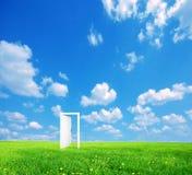 Puerta al nuevo mundo. Fotografía de archivo