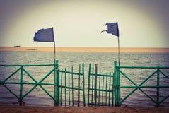 Puerta al océano Imágenes de archivo libres de regalías