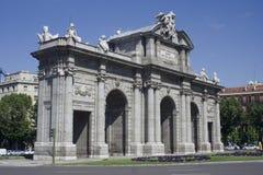 Puerta alcalá1 Stock Photo