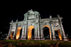 Puerta Alcala royalty-vrije stock afbeelding
