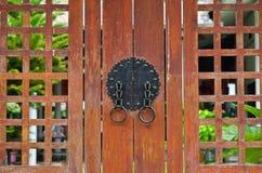 Puerta antigua coreana Imagenes de archivo