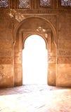 Puerta antigua del arco Imagen de archivo libre de regalías