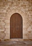 Puerta antigua del castillo Imágenes de archivo libres de regalías