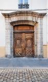 Puerta antigua del vintage Imagen de archivo