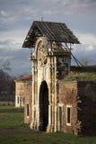 Puerta antigua en la fortaleza de Kalemegdan Foto de archivo libre de regalías