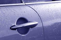 Puerta auto Imagenes de archivo