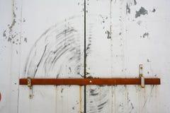 Puerta barrada Fotos de archivo libres de regalías