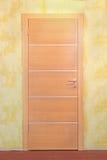 Puerta beige Foto de archivo libre de regalías