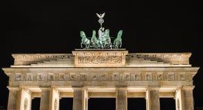 Puerta Berlín de Branderburg Fotos de archivo