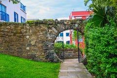 Puerta Bermudas de la luna Imágenes de archivo libres de regalías