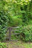 Puerta bien nacida del sendero Fotografía de archivo libre de regalías