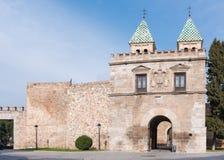 Puerta Bisagra in Toledo, Spain Stock Images