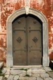 Puerta bizantina Fotografía de archivo libre de regalías