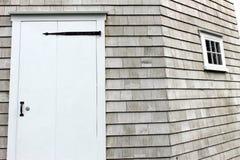 Puerta blanca Imagen de archivo
