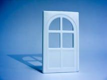 Puerta blanca Fotografía de archivo libre de regalías