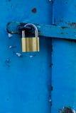 Puerta bloqueada fotos de archivo libres de regalías