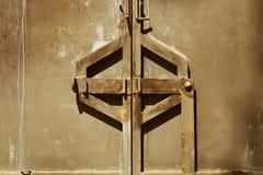 Puerta bloqueada foto de archivo libre de regalías